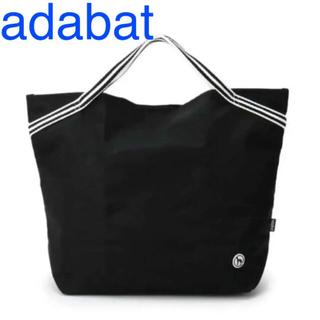 アダバット(adabat)の新品 adabat トートバッグ ポーチ アダバット ゴルフ エコバッグ 撥水(バッグ)