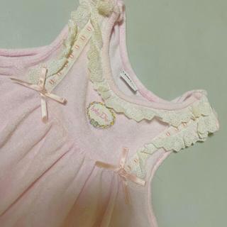ベビーディオール(baby Dior)の美品❣️babyDior!ベビーディオールロンパース 80(ロンパース)