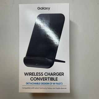 ギャラクシー(Galaxy)のGalaxy 純正 Wireless Charger ワイヤレス 充電器 黒(バッテリー/充電器)