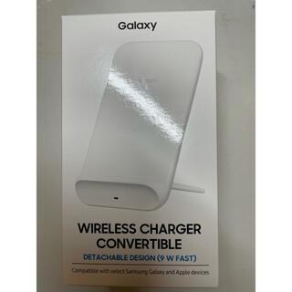 ギャラクシー(Galaxy)のGalaxy 純正 Wireless Charger ワイヤレス 充電器 白(バッテリー/充電器)