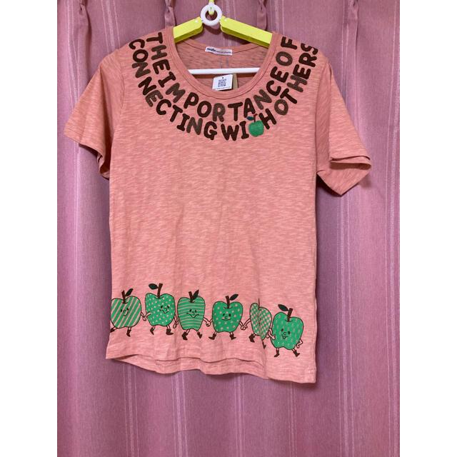 rough(ラフ)のrough Tシャツ りんご 未使用、タグ付き レディースのトップス(Tシャツ(半袖/袖なし))の商品写真