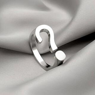サマンサシルヴァ(Samantha Silva)のクエスチョンマーク シルバー リング(リング(指輪))