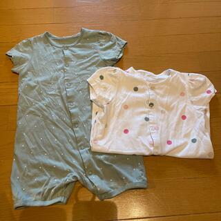 エイチアンドエム(H&M)のH&M コットン パジャマ 2枚セット(パジャマ)