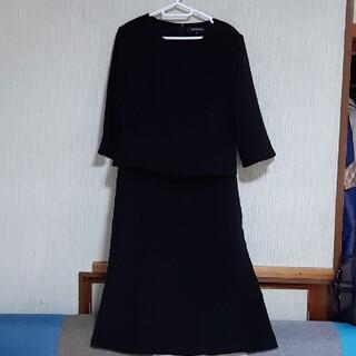 ★東京ソワール フォーマルドレス15号(礼服/喪服)