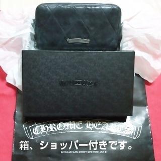 Chrome Hearts - クロムハーツ財布 ウォレット REC F ZIP#2セメタリークロス キルテッド