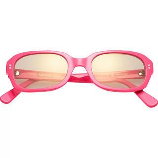 シュプリーム(Supreme)のVega Snglasses ベガ サングラス Pink supreme(サングラス/メガネ)