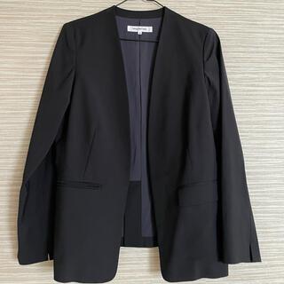 ナチュラルビューティーベーシック(NATURAL BEAUTY BASIC)のジャケット ナチュラルビューティーベーシック(ノーカラージャケット)