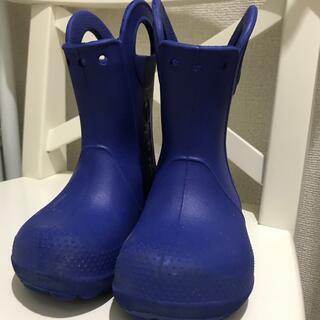 クロックス(crocs)のクロックス長靴16cm(長靴/レインシューズ)