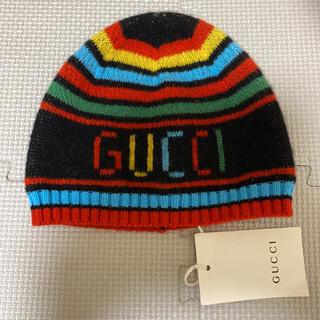 グッチ(Gucci)のGUCCI  babyニットキャップ (帽子)