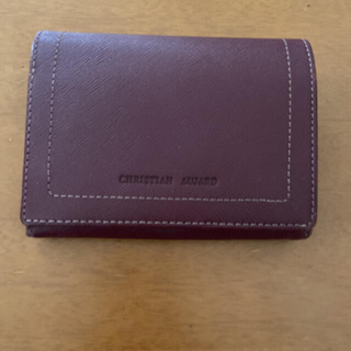 CHRISTIAN AUJARD 二つ折り財布