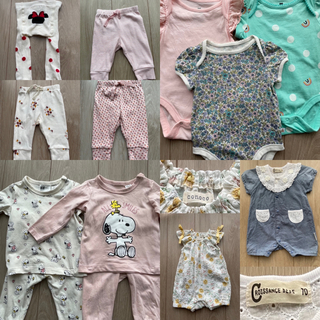 ベビーギャップ(babyGAP)の50%OFF女の子用 ブランドベビー服11点まとめ売り♪(その他)