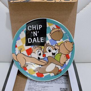 チップアンドデール(チップ&デール)のチップ&デール☆豆皿☆ディズニーストア☆非売品☆ノベルティ(食器)