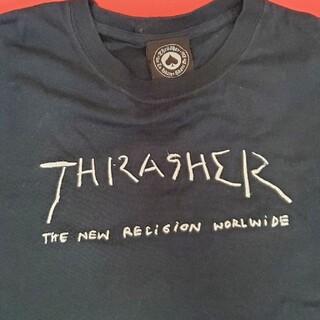 THRASHER - THRASHER Tシャツ ネイビー