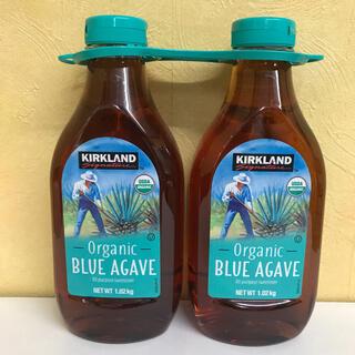 有機アガベシロップ コストコ 『organic BLUE AGAVE』