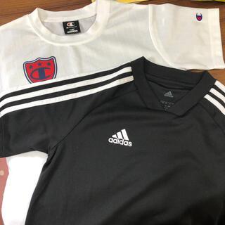 アディダス(adidas)のadidas アディダス・champion チャンピオンTシャツ2枚セット(その他)