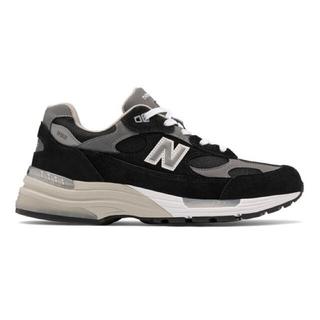 ニューバランス(New Balance)のNEW BALANCE M992EB BLACK / GREY - WHITE(スニーカー)