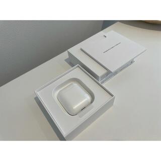 アップル(Apple)のAirpods2 砂鉄カバー付き シリコンケース付き(ヘッドフォン/イヤフォン)