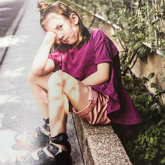 GO TO HOLLYWOOD(ゴートゥーハリウッド)のGoToHollywood☆ガッタイTシャツ150ホワイトデニム&ダンガリー キッズ/ベビー/マタニティのキッズ服女の子用(90cm~)(Tシャツ/カットソー)の商品写真