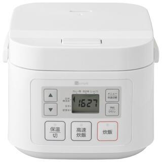 ニトリ - 3合炊きマイコン炊飯ジャー  新品(開封のみ)