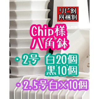 Chip様 八角鉢(その他)