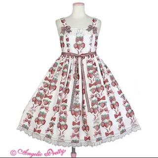 アンジェリックプリティー(Angelic Pretty)のAngelic pretty Strawberry doll JSK(ひざ丈ワンピース)