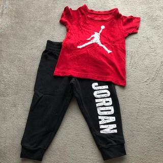 ナイキ(NIKE)のNIKE AIR JORDAN セットアップ Tシャツ スウェット パンツ(Tシャツ/カットソー)