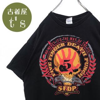 デルタ(DELTA)の【US古着】Tシャツ バンドT five finger death punch(Tシャツ/カットソー(半袖/袖なし))