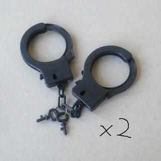 手錠(ブラック)*2(小道具)
