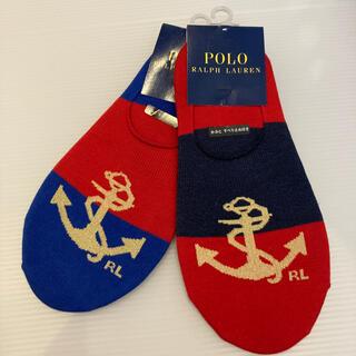 ポロラルフローレン(POLO RALPH LAUREN)のラルフローレン カバーソックス スニーカーソックス(靴下/タイツ)