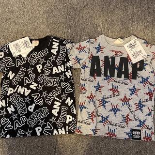 アナップキッズ(ANAP Kids)のアナップ☆新品Tシャツセット(Tシャツ)