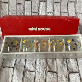 ミキハウス(mikihouse)のミキハウス コップ5個セット 新品未開封(グラス/カップ)
