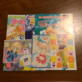 コウダンシャ(講談社)のなかよし 川村美香作品 切り抜きとポストカード(印刷物)