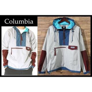Columbia - コロンビア パッカブル フードリバー プルオーバー アノラック パーカー S