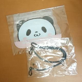 ラクテン(Rakuten)の『SPRiNG』付録 お買いものパンダ マスクケース&ネックストラップ(キャラクターグッズ)