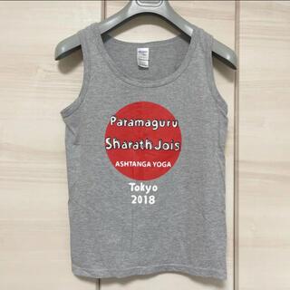 ヨガ タンクトップ ashtanga yoga sharath ヘザーグレー(ヨガ)