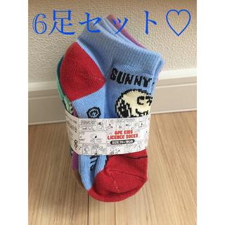 スヌーピー(SNOOPY)の新品未使用♡子ども靴下♡ベビー靴下♡スヌーピー靴下(靴下/タイツ)