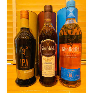 【送料込・お買い得】グレンフィディック 3本セット(ウイスキー)