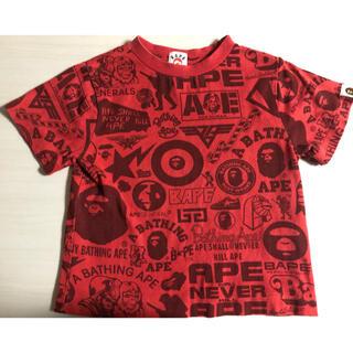 アベイシングエイプ(A BATHING APE)のAPE キッズTシャツ(Tシャツ/カットソー)
