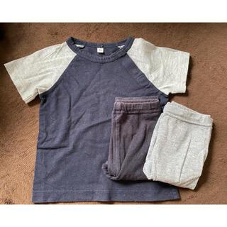 ムジルシリョウヒン(MUJI (無印良品))のTシャツ×レギンス2着セット(Tシャツ)