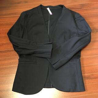 エニィスィス(anySiS)の美品◆anysis◆ジャケット(ノーカラージャケット)