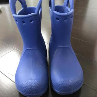クロックス(crocs)のクロックス レインシューズ 16.5センチ(長靴/レインシューズ)