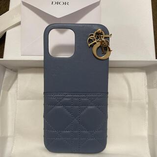 クリスチャンディオール(Christian Dior)のDIOR ディオール iPhone12promax ケース ブルー(iPhoneケース)