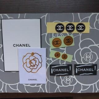 シャネル(CHANEL)のシャネル カメリアブックマーク シール(しおり/ステッカー)