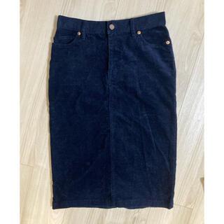 ムジルシリョウヒン(MUJI (無印良品))の無印 コーデュロイタイトスカート(ひざ丈スカート)