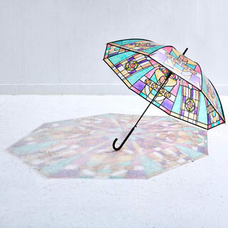 フェリシモ(FELISSIMO)のフェリシモ ステンドグラス 傘(傘)