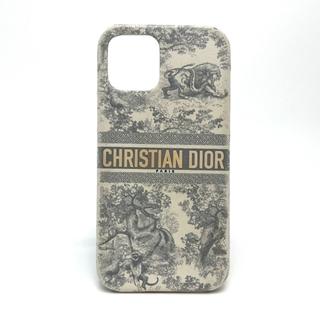 クリスチャンディオール(Christian Dior)のクリスチャンディオール トワル ドゥ ジュイ ロゴ iPhoneケース(iPhoneケース)