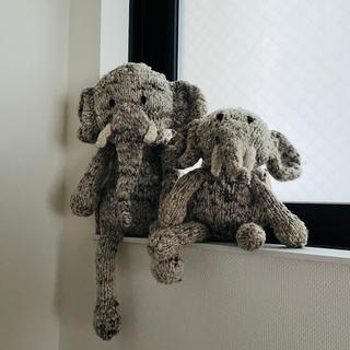 ロンハーマン(Ron Herman)のロンハーマン取り扱い ゾウのぬいぐるみ 大(置物)