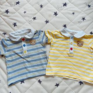 キムラタン(キムラタン)のキムラタン ピッコロ 2枚セット 80(Tシャツ)