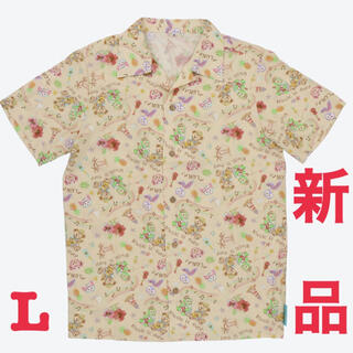 ディズニー(Disney)のディズニー ダッフィー アロハシャツ(シャツ/ブラウス(半袖/袖なし))