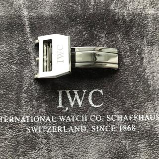 インターナショナルウォッチカンパニー(IWC)の【美品】IWC純正ビッグパイロット装着Dバックル 尾錠幅18mm(その他)